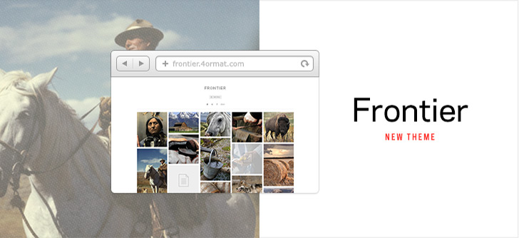 Frontier | New Theme