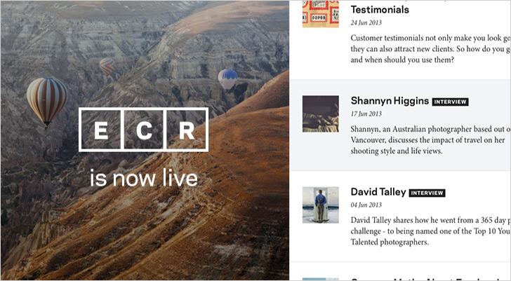 ECR is Live