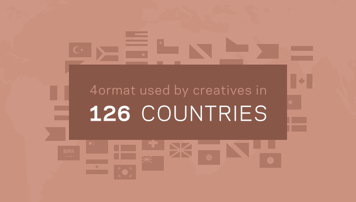 Format in 126 Countries
