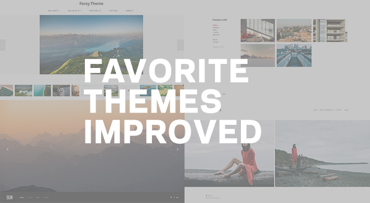 Favourite Themes Improved