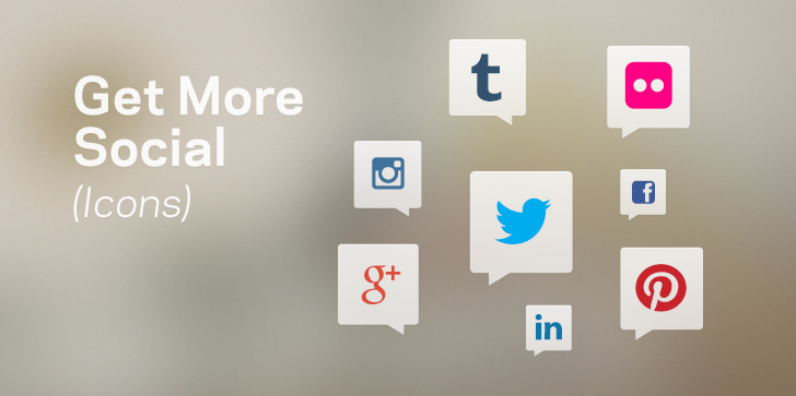Get More Social (Icons)