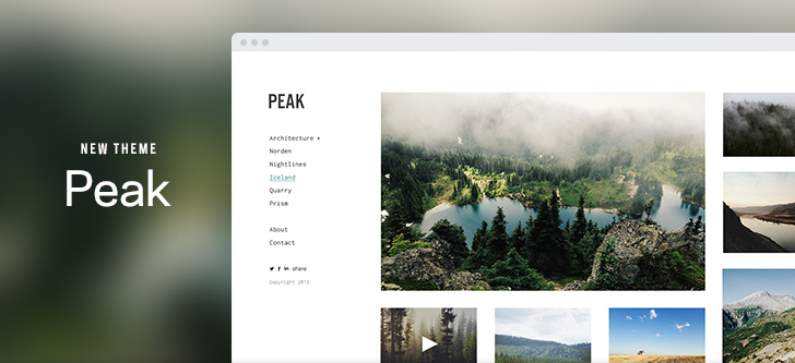 Peak | New Theme