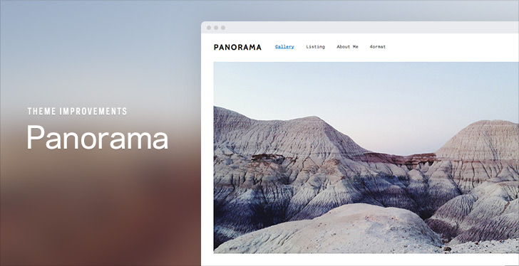Panorama | New Theme