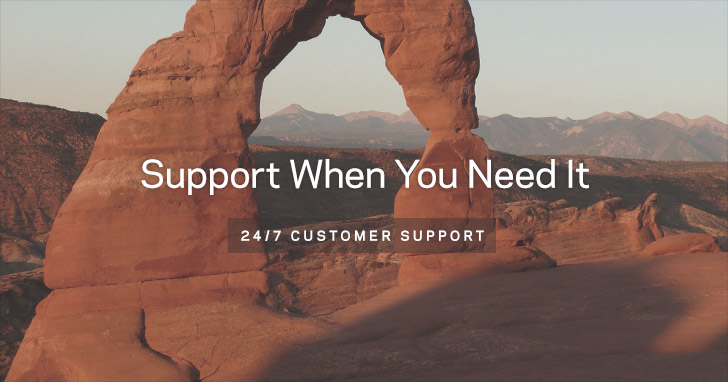 Support When You Need It