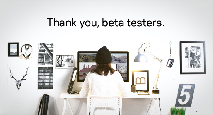 Thank you, beta testers.