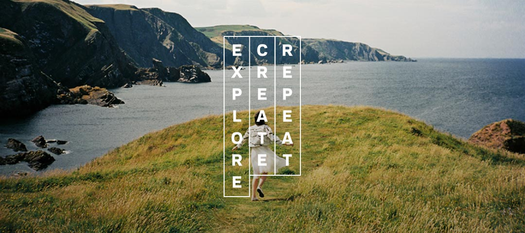 Explore Create Repeat At A Glance